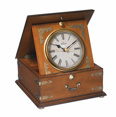 Edinbridge Chest Clock by Bulova