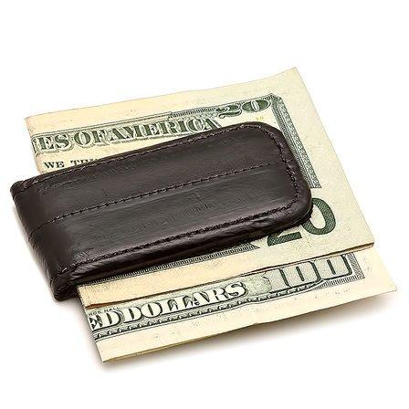 Eel Skin Magnetic Money Clip