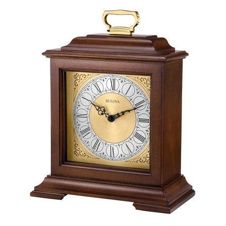 Exeter Chiming Mantel Clock By Bulova