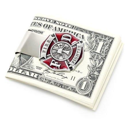 Firefighter Money Clip