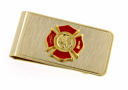 Firefighter's Money Clip