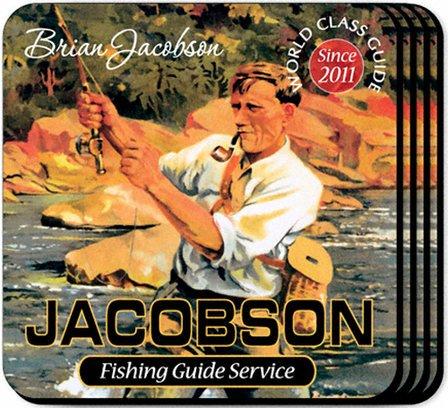 Fishing Guide Coaster Set - Free Personalization