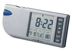 Flashlight Travel Alarm Clock by Howard Miller