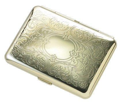 Fluer De Lis Personalized Cigarette Case for Kings