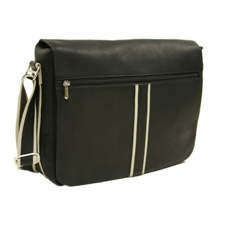 Four Section Urban Messenger Bag by Piel Leather - Free Personalization