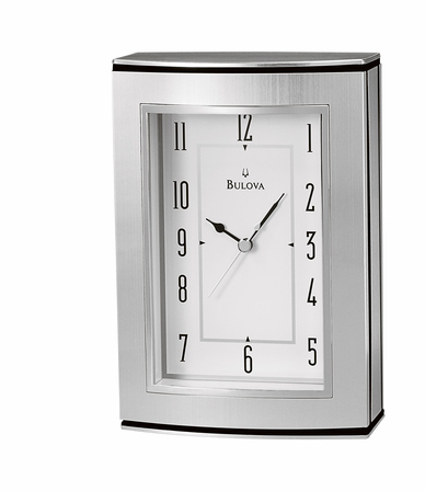Genesis Picture Frame Collection Clock by Bulova - dIscontinued