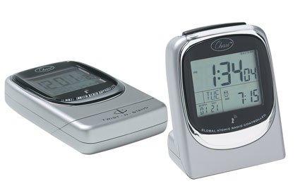 Global Sync Atomic Travel Alarm Clock - Discontinued