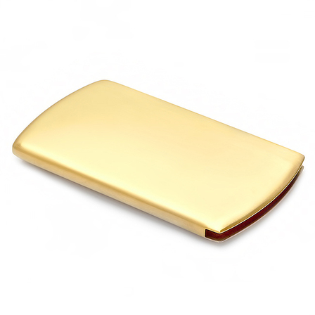 Brass Finger Dispensing Business Card Case