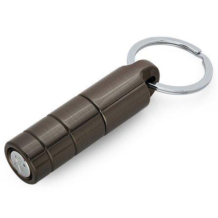 Gunmetal Cigar Punch Keychain by Xikar