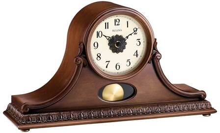 Hyde Park Chiming Mantel Clock By Bulova