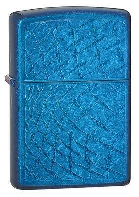 Iced Diamonds Cerulean Zippo Lighter - ID# 28341