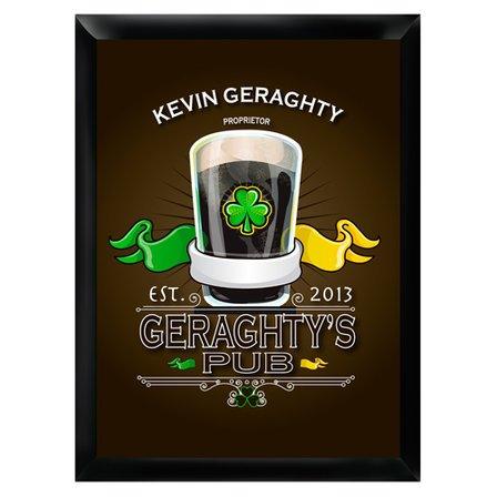 Irish Pub Sign - Free Personalization