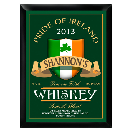 Irish Whiskey Pub Sign - Free Personalization