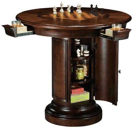 Lovely Ithaca Pub U0026 Game Table By Howard Miller