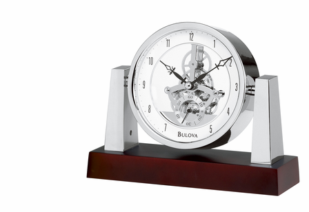 Largo Personalized Tabletop Clock by Bulova