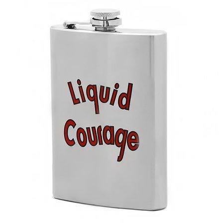 Liquid Courage Flask