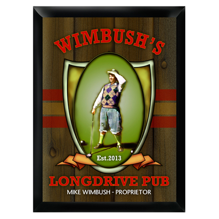 Longdrive Pub Sign - Free Personalization