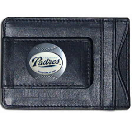 MLB Leather Wallet & Money Clip