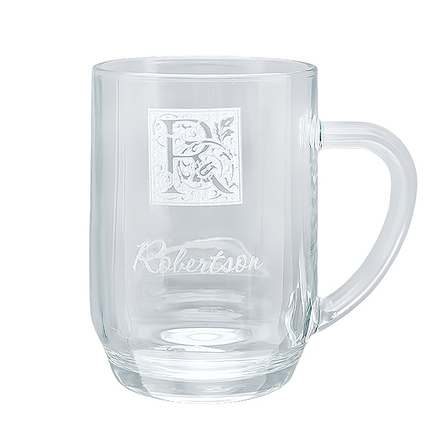 Monogram  20 Ounce Barrel Mug with Handle