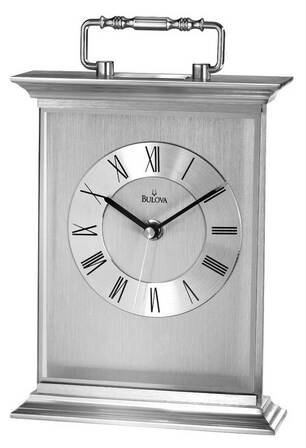 Newport Carriage Clock By Bulova