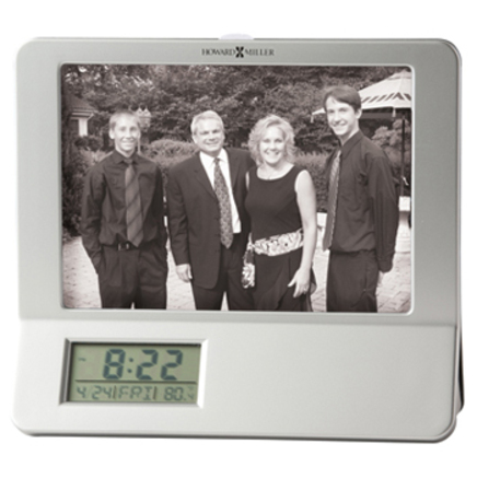 Newton Desktop Photo Clock by Howard Miller - Discontinued