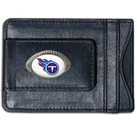 NFL Leather Wallet & Money Clip