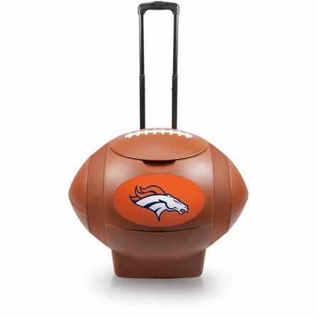 NFL Rolling Football Cooler