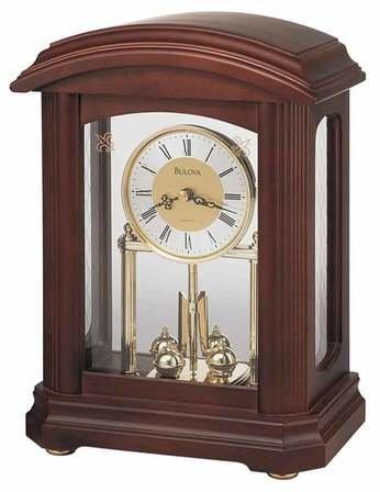 Northdale Tabletop Clock By Bulova
