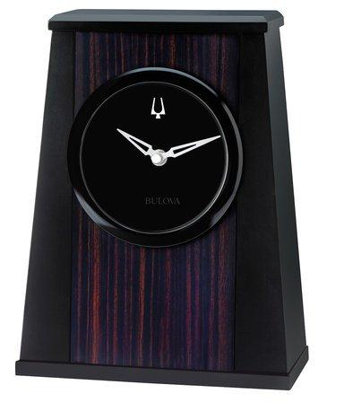 Oblique Galleria Collection Clock By Bulova