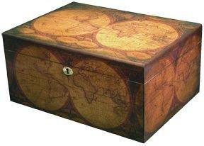 Old World 100 Count Cigar Humidor