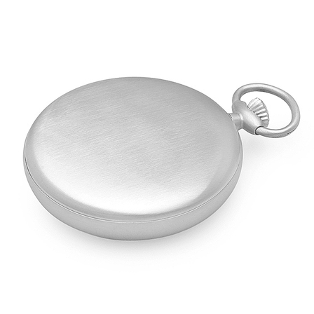 Open Face Engraved Charles Hubert Quartz Pocket Watch & Chain #3534