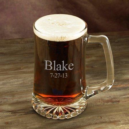 Personalized 25 Ounce Sports Mug