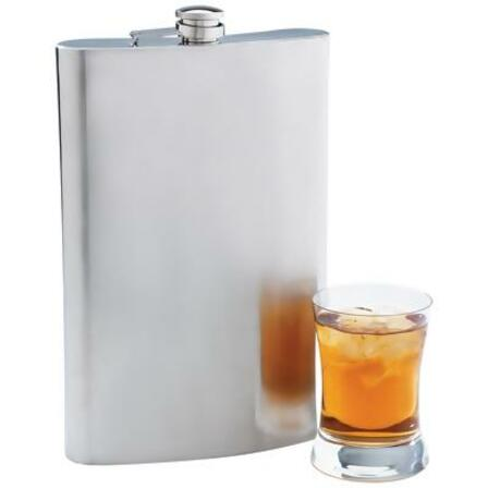 Personalized 64 Ounce Super Sized Flask