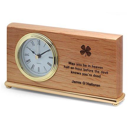 Before The Devil Knows Your Dead Irish Desk Clock