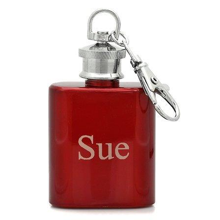 Personalized Keychain Flask