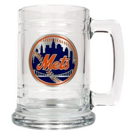 Personalized MLB Glass Tankard
