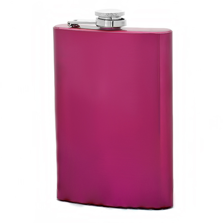 Personalized Pink Flask
