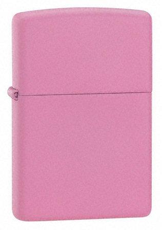 Pink Matte Zippo Lighter - Free Engraving - ID# 238