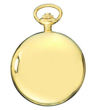 Gold Charles Hubert Pocket Watch & Chain #3904-G