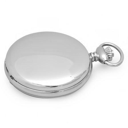 Personalized  Quartz Charles Hubert Pocket Watch & Chain #3551