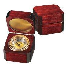 Porto Mahogany Wood Chest Clock