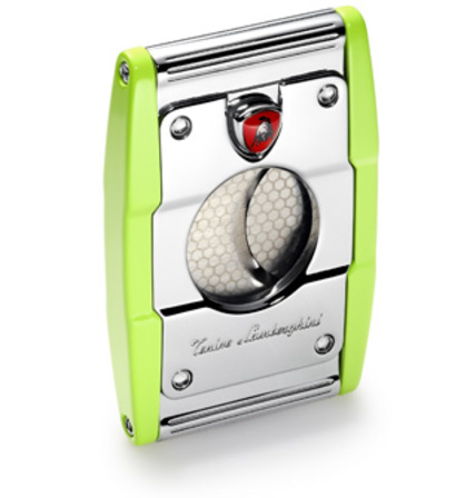 Precisione Stainless Steel Guillotine Cigar Cutter by Lamborghini