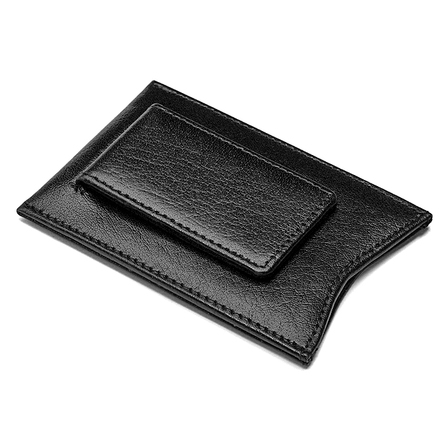 Primo Leather Magnetic Money Clip Wallet