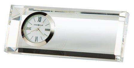 Prism Crystal Desk Clock by Howard Miller