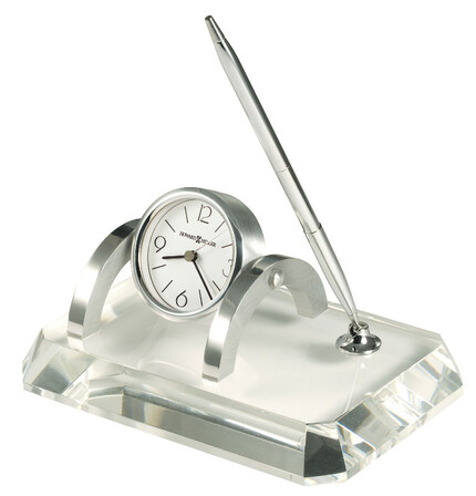 Prominence Clock And Pen Desk Set by Howard Miller