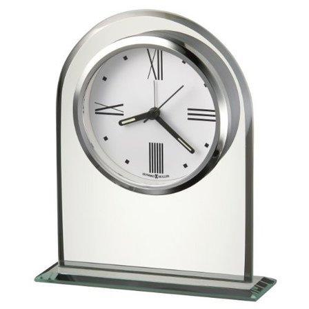 Regent Crystal Tabletop Clock by Howard Miller