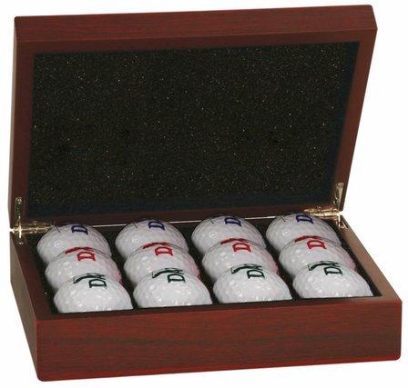 Roman Monogram Golf Ball Case