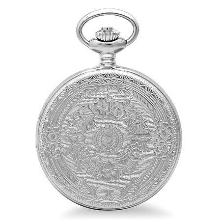 Rose Gold Charles Hubert Pocket Watch & Chain #3821