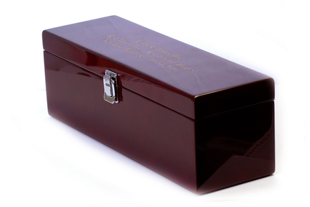 Single Bottle  Wine Presentation Box with Tools