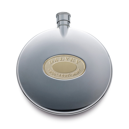 Round Flask with Shot Cup by Dalvey